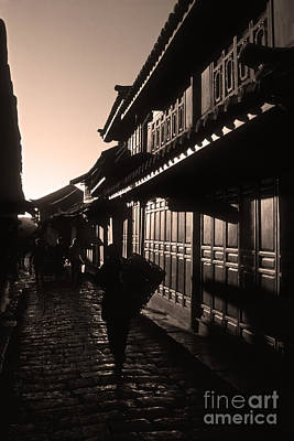 Lijiang Old Town Yunnan China Poster by James Brunker