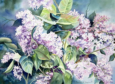 Lilac Delight Poster by Deborah Ronglien