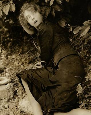 Lillian Gish As The Harlot In Within The Gates Poster by Edward Steichen