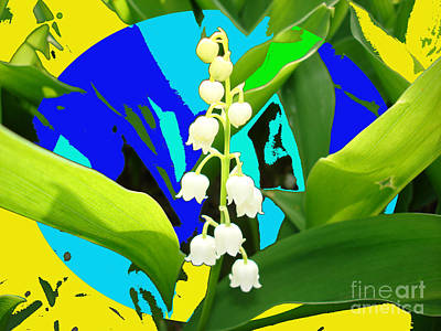 Lily Of The Valley By M.l.d.moerings 2008 Poster by Marion Moerings