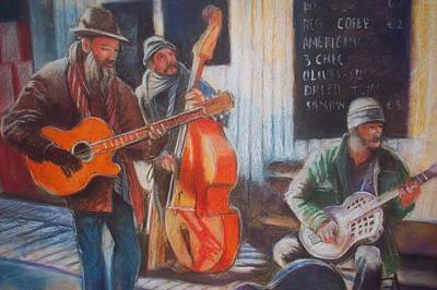 Poster featuring the painting Limerick  Milk Market by Paul Weerasekera