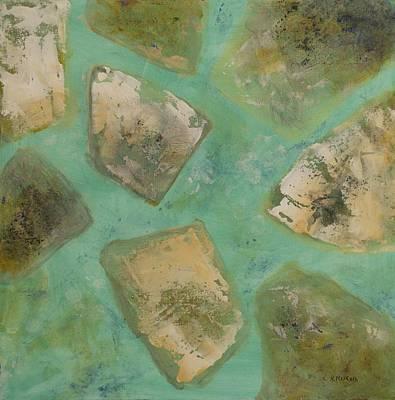 Limestone Creek Poster by Linda Krukar