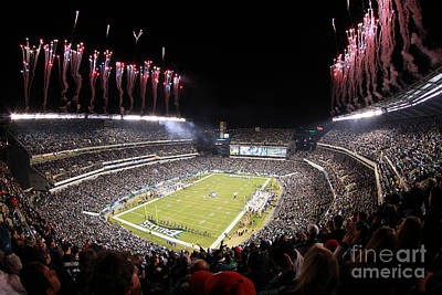 Lincoln Financial Field Fire Poster