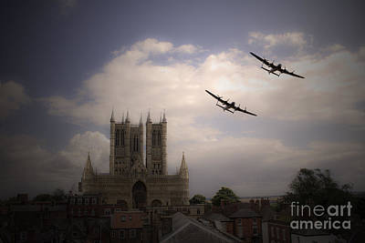 Lincoln Lancs Poster