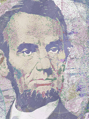 Lincoln Reimagined Vertical Poster by Tony Rubino