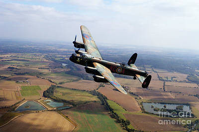 Lincolnshire Bomber  Poster by J Biggadike