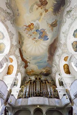 Lindau Organ And Ceiling Poster