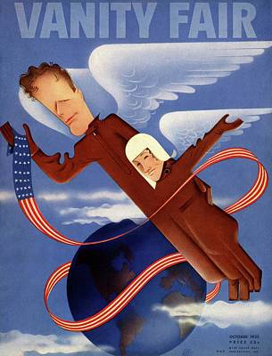 Lindbergh's In Flight Uniforms Poster by Paolo Garretto
