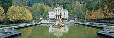 Linderhof Castle Germany Poster