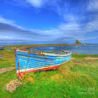 Lindisfarne By The Sea Poster by John Kelly