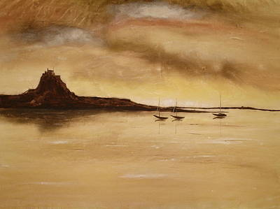Lindisfarne Castle Holy Island England Poster