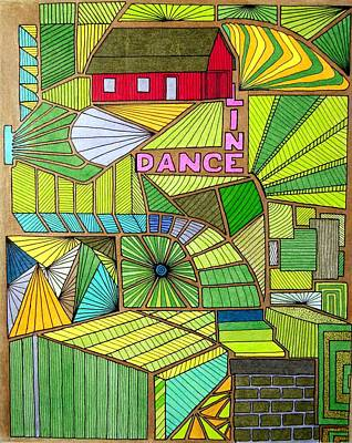 Line Dance Poster