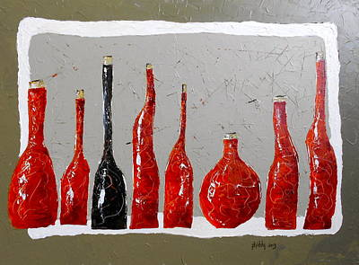 Line Of Wine Poster