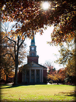 Lingle Chapel - Davidson College Poster