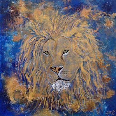 Lion Of Judah Poster by Eliene  Nunes