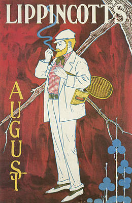 Lippincotts August Poster