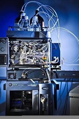 Liquid Chromatography Machine Poster