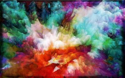 Liquid Colors - Original Poster by Lilia D