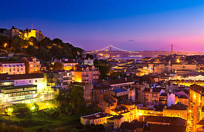 Lisbon 02 Poster by Tom Uhlenberg