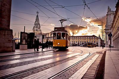 Lisbon Light Poster