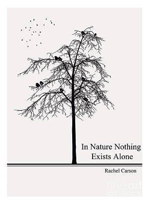 Literary Quote- Rachel Carson Poster