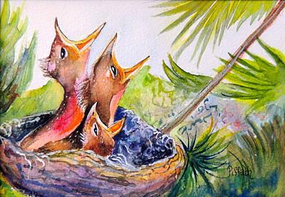 Little Beaks Poster