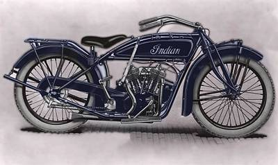 Little Blue Indian 2 Poster