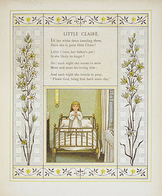 Little Claire Poster by British Library