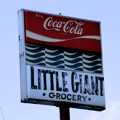 Little Giant Grocery Poster by Brandon Addis