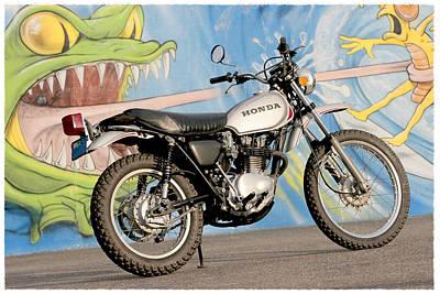 Little Honda On Highway One Poster