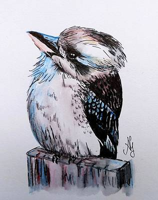 Little Kookaburra Poster