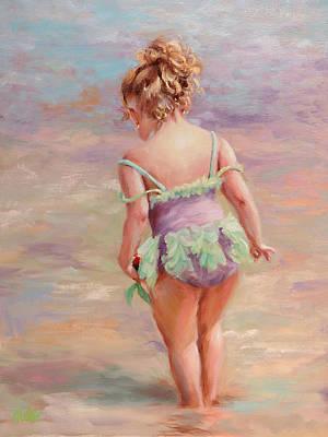 Little Mermaids Poster by Katherine Tucker