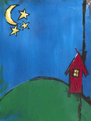 Little Red House Poster