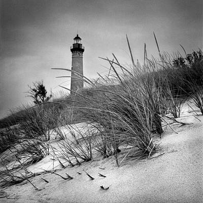 Little Sable Point Lighthouse II Poster by Jeff Burton