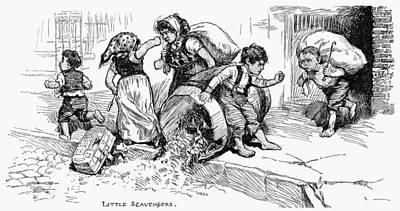 Little Scavengers, 1881 Poster