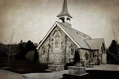 Little Stone Church Poster by Scott Hovind