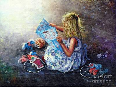 Little Treasures Poster by Vickie Wade