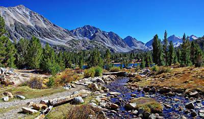 Little Valley Trail John Muir Wilderness Poster