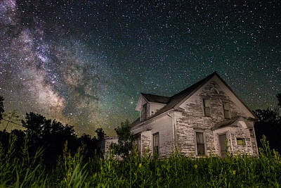 Little White House  Poster by Aaron J Groen