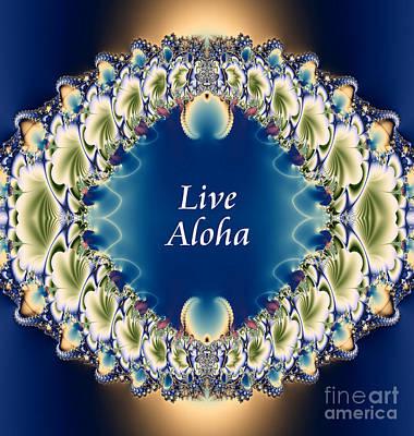 Live Aloha Poster