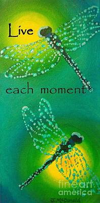 Live Each Moment Poster