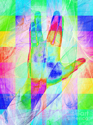 Live Long And Prosper 20150302v1 Color Squares Poster by Wingsdomain Art and Photography