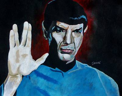 Live Long And Prosper Poster by Jeremy Moore