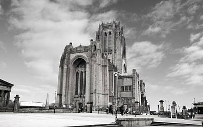 Liverpool Anglican Cathedral Poster by David French