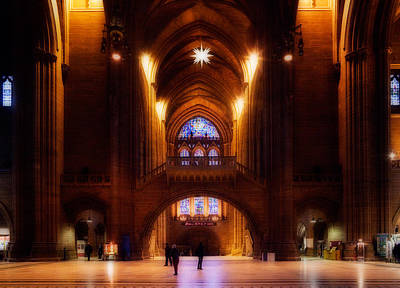 Liverpool Cathedral, Church Of England Poster