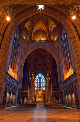 Liverpool Cathedral, Liverpool Poster by Panoramic Images