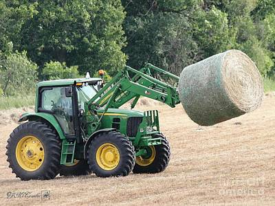 Loading Hay Poster