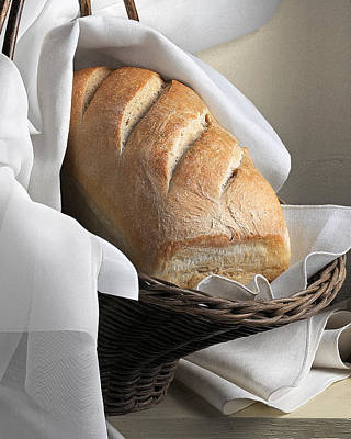 Loaf Of Bread Poster by Krasimir Tolev