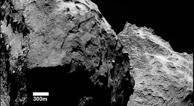 Lobes Of Comet Churyumov-gerasimenko Poster by European Space Agency/rosetta/mps For Osiris Team Mps/upd/lam/iaa/sso/inta/upm/dasp/ida