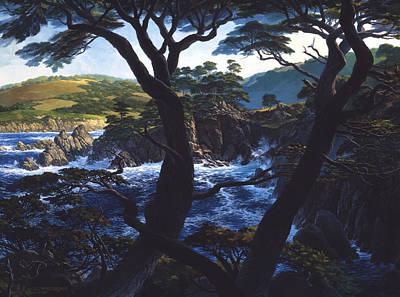 Lobos Symphony Poster by Tom Wooldridge
